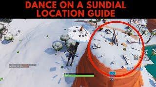 Dance on a Sundial LOCATION GUIDE Week 9 Challenges Season 7 Fortnite Battle Royale