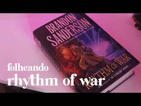 FOLHEANDO RHYTHM OF WAR /// O mais novo livro do Brandon Sanderson!