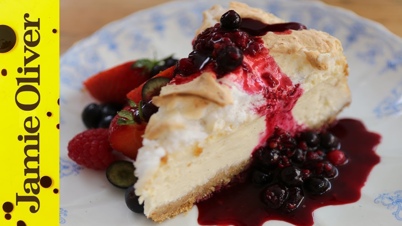 New York Cheesecake Cheese Recipes Jamie Oliver Recipes