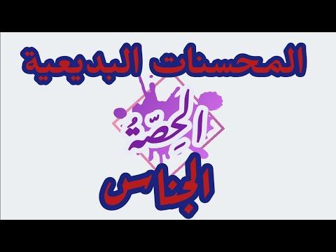 talb online طالب اون لاين لغة عربية | بلاغة | المحسنات البديعية | الجناس محمد عبدالمنعم