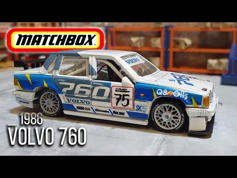MATCHBOX Resto & Custom : 1986 Volvo 760