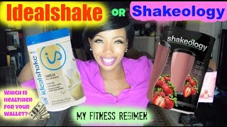 Shakeology Vs Idealshake Product Showdown - Review & Fitness Results