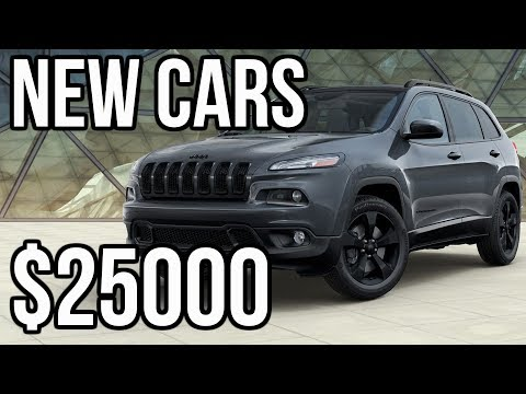 Top 7 Cheap NEW Cars Under 25k 2018