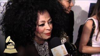 Diana Ross At Pre GRAMMY Gala | GRAMMYs