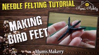 Making Bird Feet Tutorial  / How To
