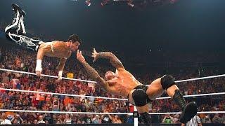 Randy Orton RKOs Evan Bourne in mid-air: Raw, July 12, 2010