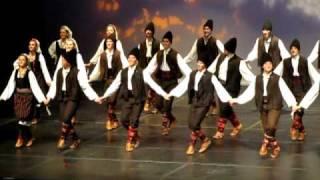 Serbian Folk Dance from Vranjsko Polje - Врањско Поље