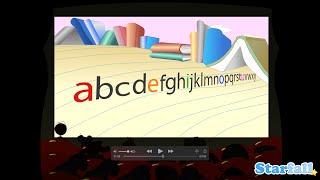 """How the Alphabet Got Its Order"" a Starfall™ Movie from Starfall.com"