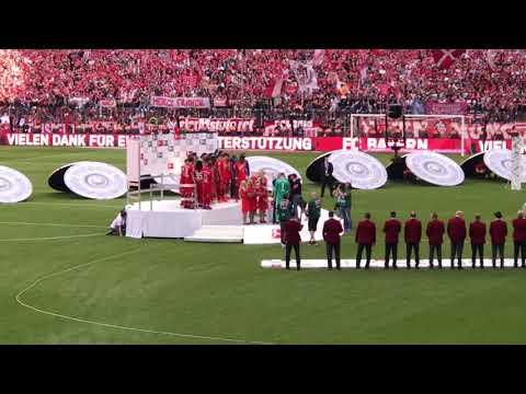 FC Bayern München - Deutscher Meister 2019 !!! Meisterfeier LIVE aus der Allianz Arena | 18.05.2019