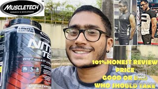 MuscleTech NITRO-TECH HONEST REVIEW AND RESULTS