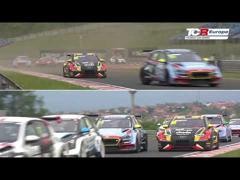 2019 Hungaroring, TCR Europe Round 1 Clip