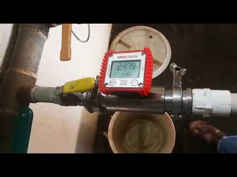 Positive Displacement Flow Meter  Polyurethane And Polymer