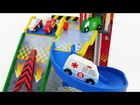 बच्चों और बच्चों के लिए बेस्ट वुडेन टॉय कार लर्निंग वीडियो!