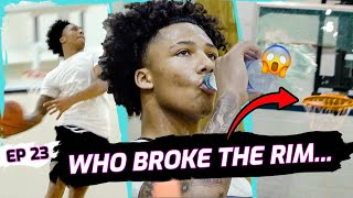 """I'm About To Hit 3 Mil!"" Did Mikey Williams BREAK THE RIM!? BATTLES Team After Trey INJURY 😱"
