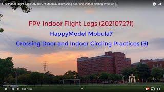 FPV Indoor Flight Logs 20210727f Mobula7 3 Crossing door and indoor circling Practice (3)