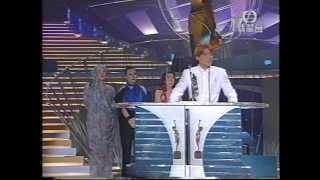 劉德華第一次拿金像獎最佳男主角 + 後台訪問
