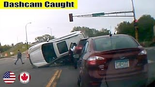 Ultimate North American Cars Driving Fails Compilation - 75 [Dash Cam Caught Video]
