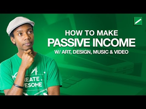 How to Make Passive Income from Art, Design Photography and Video with Fliiby