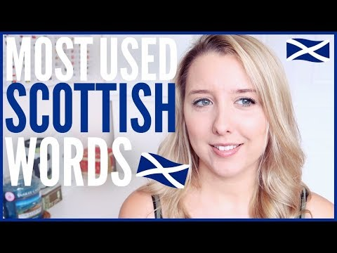 MOST USED SCOTTISH WORDS!