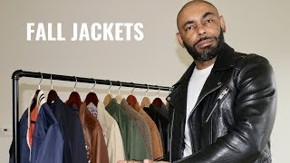 Top 6 Jackets Men Need For Fall 2018/My Fall Jacket Collection