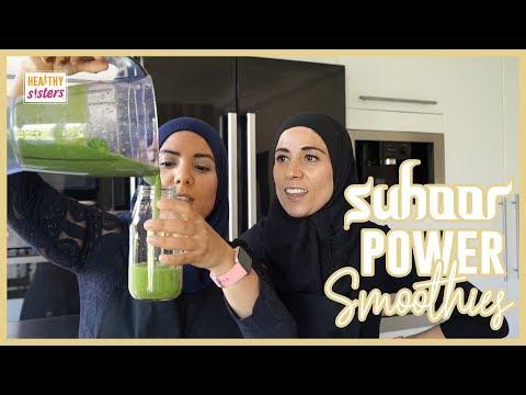 Suhoor Power Smoothies - Healthy Sisters