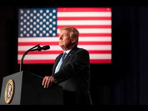 L'annonce de Donald Trump sur la paralysie budgétaire aux États-Unis