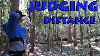 judging distances for the first time 3d archery