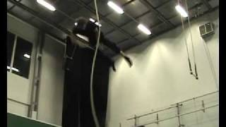 Mad world in corde lisse ( aerial rope )
