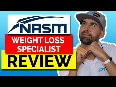 NASM (WLS) Weight Loss Specialist Certification Review - YouTube