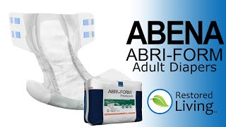Abena Abri-Form from Restored Living