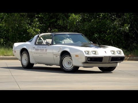 Video of '80 Firebird Trans Am Turbo Indy Pace Car Edition - NENL