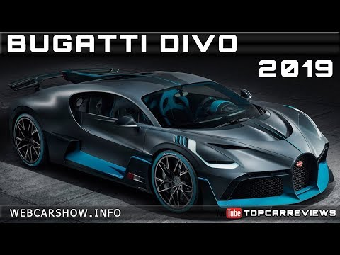 2019 BUGATTI DIVO Review Rendered Price Specs Release Date