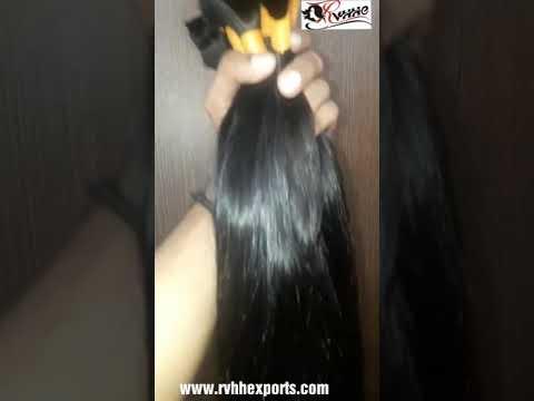 Silky Straight Bulk Indian Remy Hair