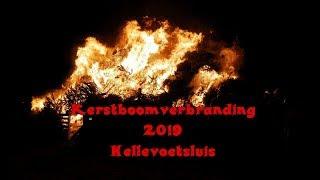 erstboomverbranding 2019 in Hellevoetsluis