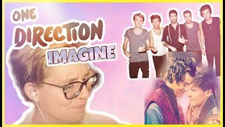 REACTING TO ONE DIRECTION IMAGINES (THROWBACK EDITION)