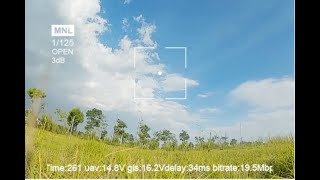 Flight test of DJI FPV HD digital antenna system with the best comprehensive performance