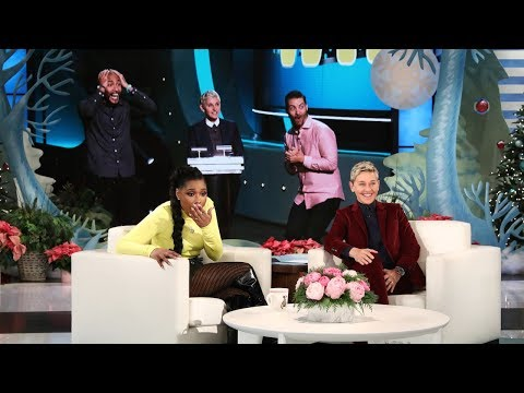 Ellen's New Show 'Game of Games' Leaves Jennifer Hudson Stunned