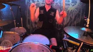 ABORTED@Hecatomb-Live in Cracow-Poland 2014 (Drum Cam)