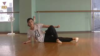 花咲先生のバレエレッスン~綺麗なピルエットを回るために①~内転筋トレーニングのサムネイル画像