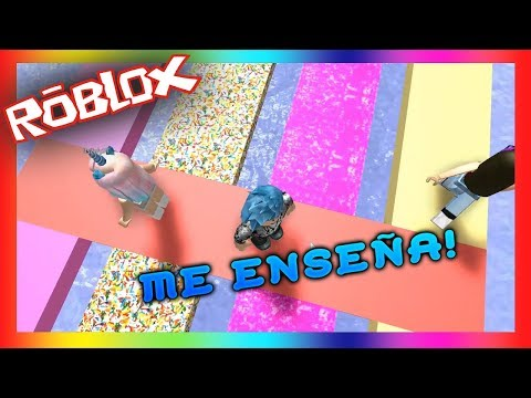 escape candyland obby roblox lets play