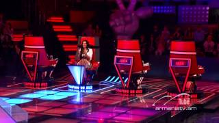 Lali Sahakyan, Stop by Jamelia -- The Voice of Armenia – The Blind Auditions – Season 3