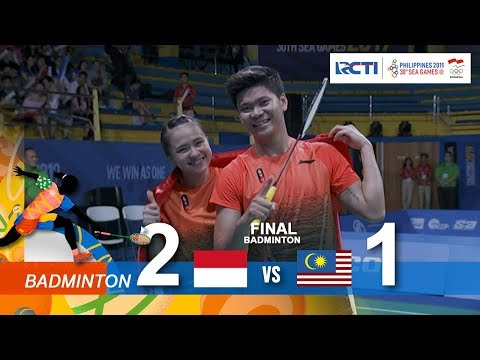 BADMINTON FINAL MIX DOUBLE SEA GAMES 2019