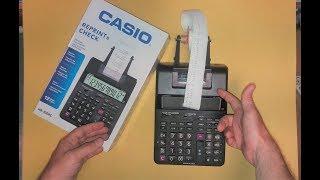 Casio HR100-rc Calculator 2019/ Total&Grand Total / Adapter / Paper