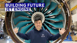 Inside Rolls Royce Factory – Building Future Jet Engine