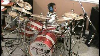 AC/DC - What Do You Do for Money Honey, Drum Cover, 5 Year old Drummer