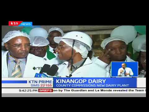 Nyandarua County commissions new dairy plant