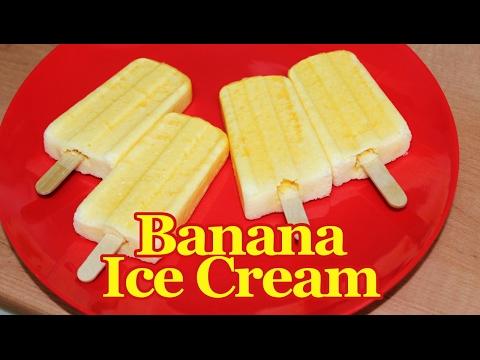 Video Super Creamy Banana Ice Cream