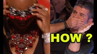 """50 Y.O. Mom ROCKS The Stage & Everyone Goes CRAZY! Then She Gets """"GOLDEN BUZZER"""" + STANDING OVATION!"""