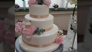 Wedding Cake & Cupcakes  (Wedding Dessert Table)