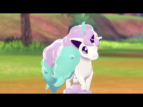 Meet Galarian Ponyta in Pokémon Shield! 🛡️